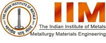 LOGO OF The Indian Institute of Metals